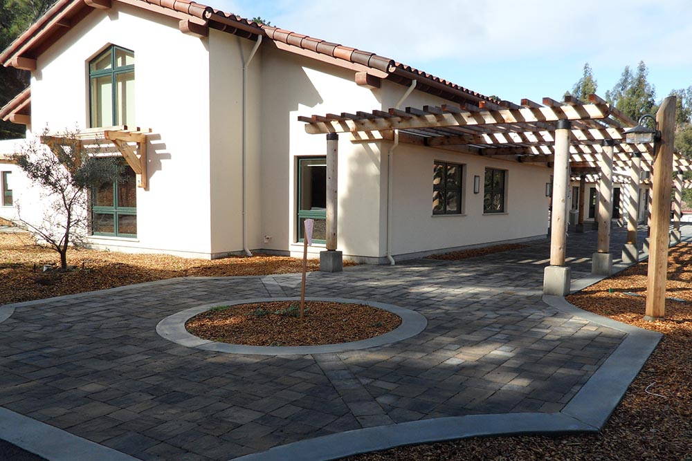 ST.Francis walkway done by Don Chapin