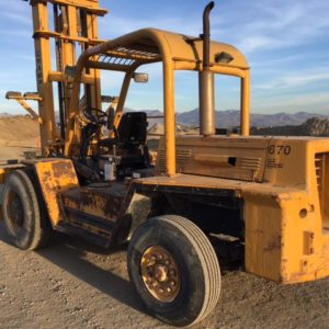 Champ forklift left rear